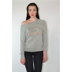 Leave It All On The Dance Floor - Grey Sweatshirt