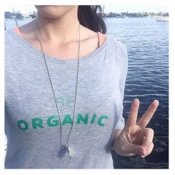 Be Organic - Grey Sweatshirt